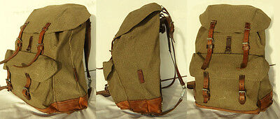Rarity orginal Vintage Swiss Army Backpack year 1967 Best Quality