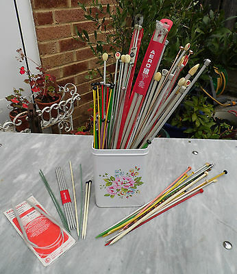 Vintage Job Lot of Mixed Knitting Needles and other Knitting Accessories
