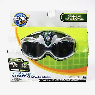 Discovery Kids Dual Vision Spy Night Goggles Green LED Lights SEE IN THE DARK