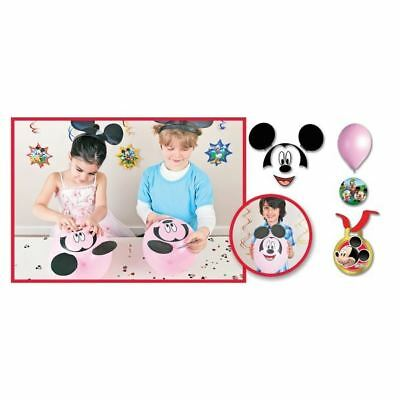 31 Piece Disney Mickey Mouse Playful Clubhouse Build A Balloon Head Party Game