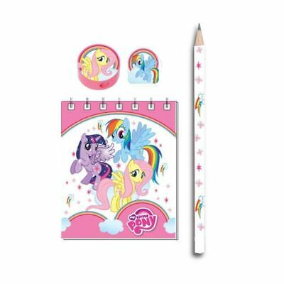 20 Piece My Little Pony MLP Charm Party Gift Loot Favours Stationery Pack