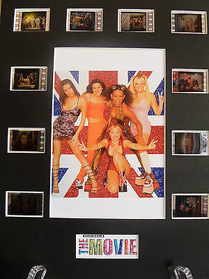 Spice Girls Spiceworld the movie film cell display rare