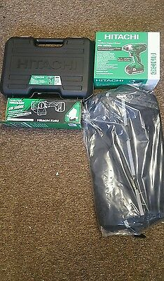 HITACHI DRILL MACHINE + IMPACT DRIVER 18V X2 2.5AH BATTERIES Li-Ion CORDLESS KIT