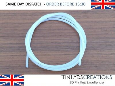 PTFE Teflon Tube 2mm id 3mm od Teflon Tubing for MK7/8 extruder prices per metre