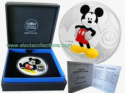 France - 10 Euro Argent, Mickey Mouse, 2016