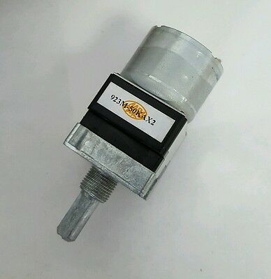 NEW JAPAN ALPS RK168 50K OHM Dual Channel Motorized Volume Potentiometer 50KAX2
