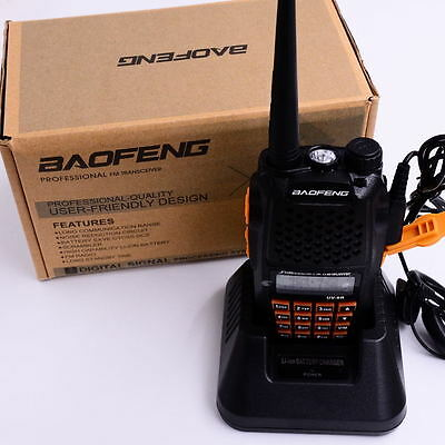 Ham Transceiver Baofeng UV-6R VHF/UHF 136-174/400-520MHz Dual-Dand Two-way Radio