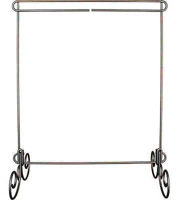 QUILT STAND, 12in x 14in No Header, Silver Finish By Ackfeld Manufacturing NEW