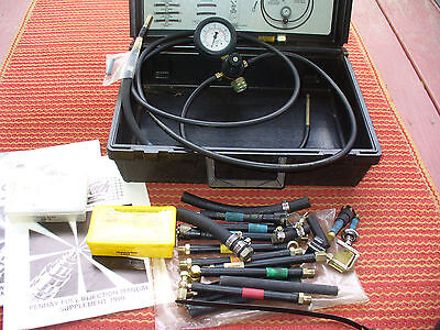 Vintage Super Tech Fuel Injection Cleaning System & Case