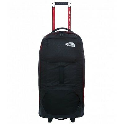 The North Face Longhaul 30 Inch Large Wheeled Suitcase Black New Fall 16 Model