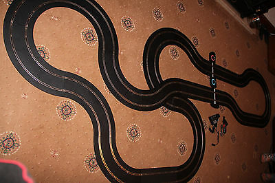 """SCALEXTRIC """"SEDONA"""" GIANT TRACK SET inc BRAND NEW LAP COUNTER + 2 x GT CARS"""