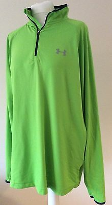 Men'S Under Armour All Season Running Top Size Large Vgc