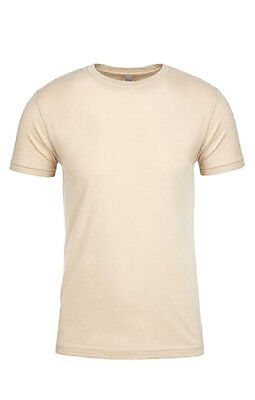 Lot of 11 Mens Next Level 100% Cotton Crew Neck T Shirt Blanks ---NEW---