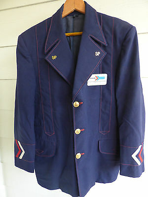 Vintage Amtrak Conductor Uniform and name tag by Huntley Angelica
