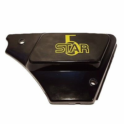 General 5 Star moped right side battery cover upper cover Lazer