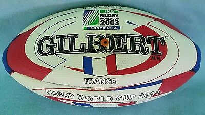 New Mini Gilbert Football -- Rugby Union World Cup 2003 -- France