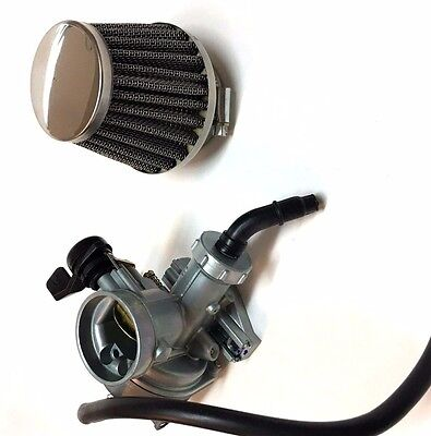 1980 - 1986 Honda Ct 110 Carburetor & Air Fuel Filter Cleaner Ct110 Carb Bike