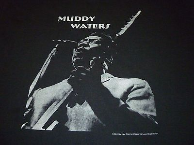 Muddy Waters Vintage Shirt ( Used Size XL ) Very Good Condition!!!