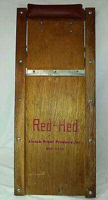 Vintage Red-Hed Mechanic's Floor Creeper 22H-333 Smash Proof Products, Inc.
