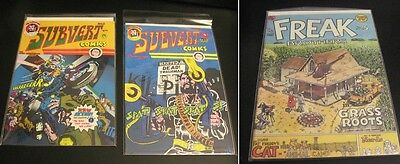 Wow! MEGA-LOT of *41* Underground Comix! (A few Indie) 1970's Up (VF/NM)