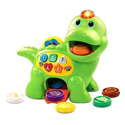 New VTech Educational Kids Toy Chomp And Count Dino Baby Toddler Songs Learning