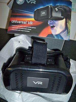 Goji Gvrbk17C Universal Vr (Virtual Reality) Headset For Android And Ios