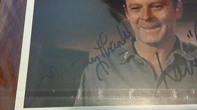 MASH - Autographed photo signed by Larry Linville (aka: Frank Burns)... RARE!