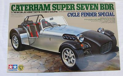 Tamiya 1:12 Scale Caterham Super Seven Cycle Fender Complete Unassembled Model l