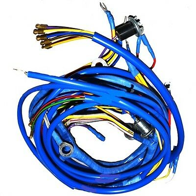 Fordson Power Major & Super Major Tractor Wiring Loom/ Wiring Harness