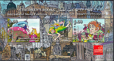 Israel 2010 Children's Books Miniature Sheet London Festival of Stamps 2010 MUH
