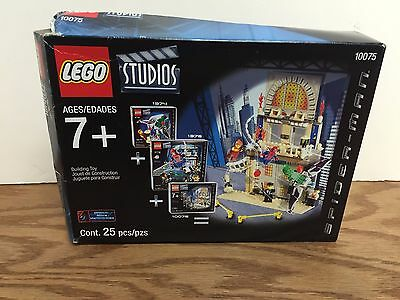 LEGO STUDIOS 10075 SPIDER-MAN Action Pack Set (25 pieces) ULTRA RARE !!!!!!!!