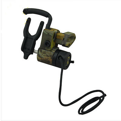 Right Hand Drop Away Arrow Ultra Rest Containment Archery Compound Bow Camo