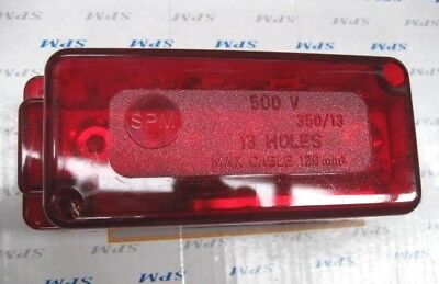 SPM 13 HOLE ACTIVE LINK - 350A - 500V - Red - SP350/13