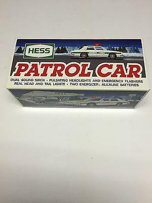 Hess Gasoline 1993 Toy Truck Patrol Car Police Cruiser New In Box