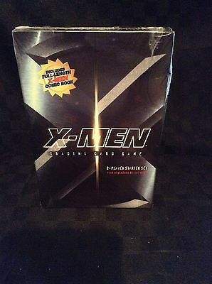 NIB Marvel Xman 2 Player Started Set Trading Card Game & Full Length Comic Book