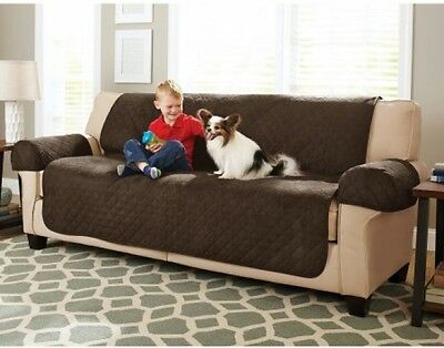Better Homes And Gardens Waterproof Non-Slip Faux Suede Pet/Furniture Sofa Cover