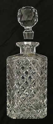 NEW Beautiful Vintage Bohemia Crystal Czech Decanter