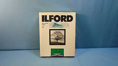 ILFORD MGIV Multigrade IV FB Fiber 8x10 Glossy Photographic Paper Open 100 AS-IS