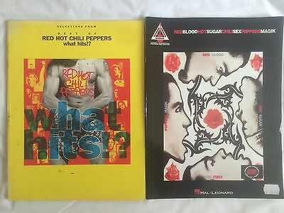 Red Hot Chilli Peppers,  Two Songbooks,  Blood Sugar Sex Magik and Best Of