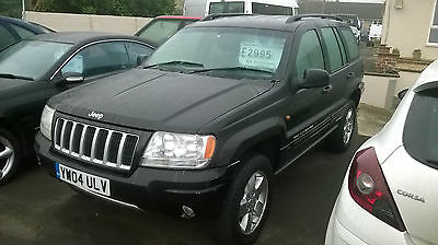 2004 / 04 JEEP GRAND CHEROKEE 2.7 CRD Auto Limited