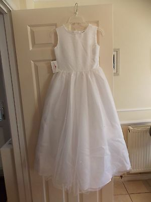 Only Communion Dress Size 10 New