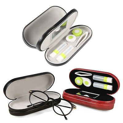 high-grade Glasses & Contacts Case Travel Contact Lens Hard Case Assorted Colors