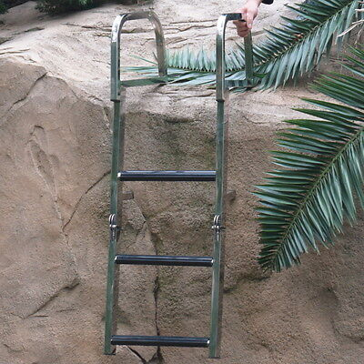 3 Step Stainless Steel Ladder Dock Ladder Swimming Ladder Boat Free Shipping