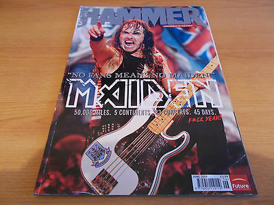 IRON MAIDEN / METALLICA / SLIPKNOT Metal Hammer no. 192 Jun 2009