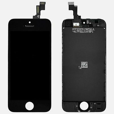 Black New Replacement LCD Display Touch Screen Digitizer Assembly for iPhone 5C