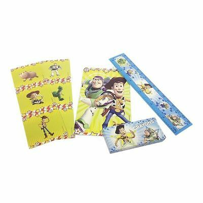20 Piece Disney Toy Story Birthday Party Loot Favours Stationery Gift Set Pack