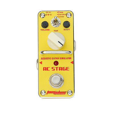 Tom'sLine Mini Pedal AAS-3 AC-Stage Ac. Guitar Simulator (UVP 50,60€) NUR 42,50€