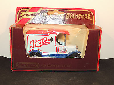Pepsi Cola 1978 Model T Ford in original box Made in England (11740)