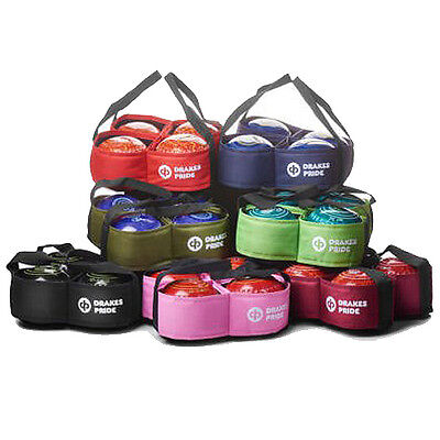 DRAKES PRIDE 4 BOWL CARRIERS (contents not included). Var. colours.  FREE POST.