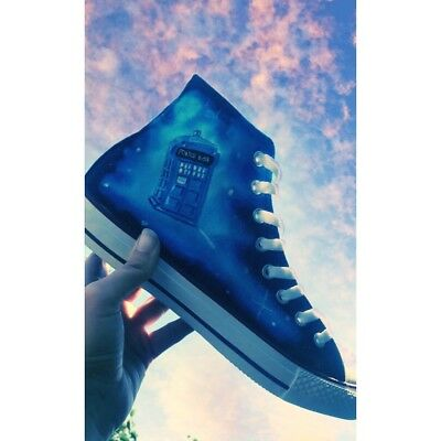 doctor who high top trainers